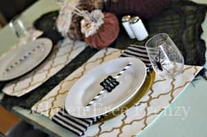 Halloween Tablescape & Monster Taco Salad