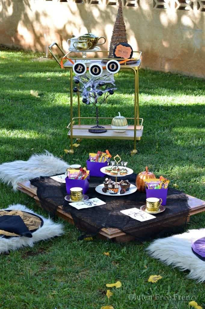 Little Witches Halloween Tea Party