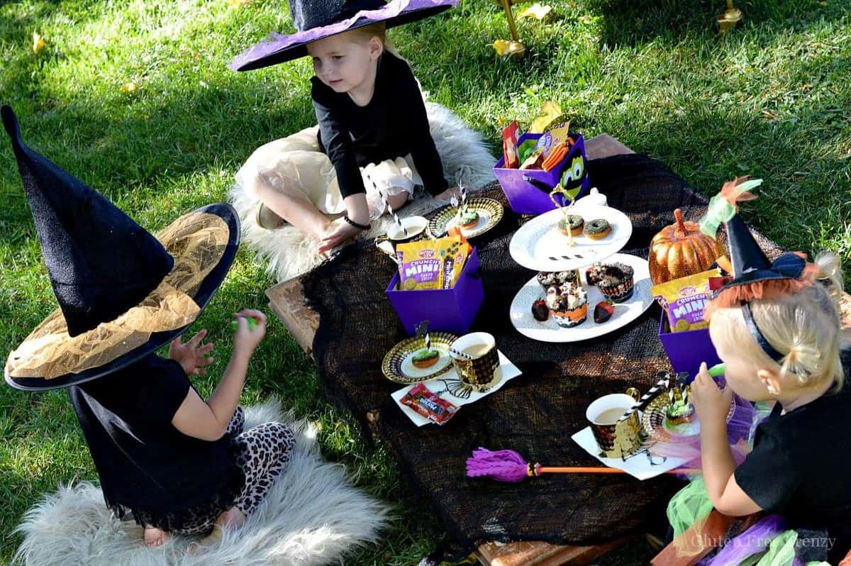 Little Witches Tea Party for Halloween