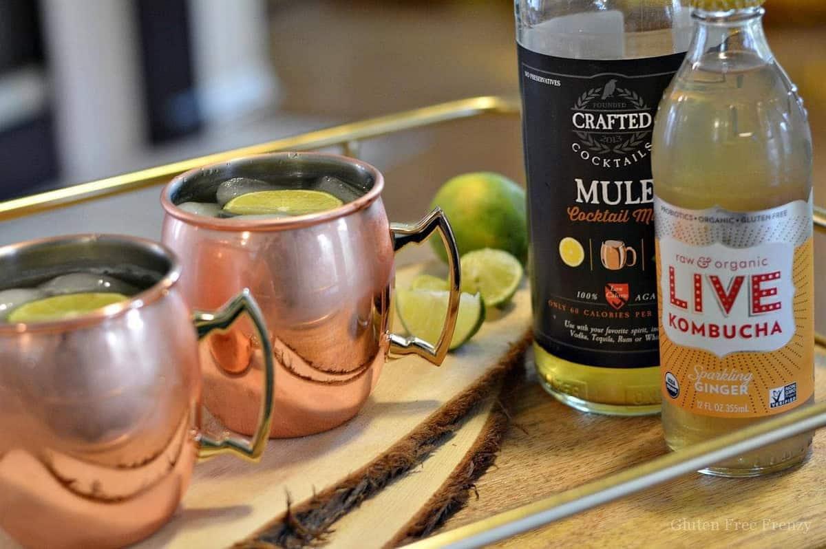 """Mock""scow Mules (Moscow Mule Mocktail)"