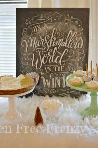 Marshmallow World Christmas Party