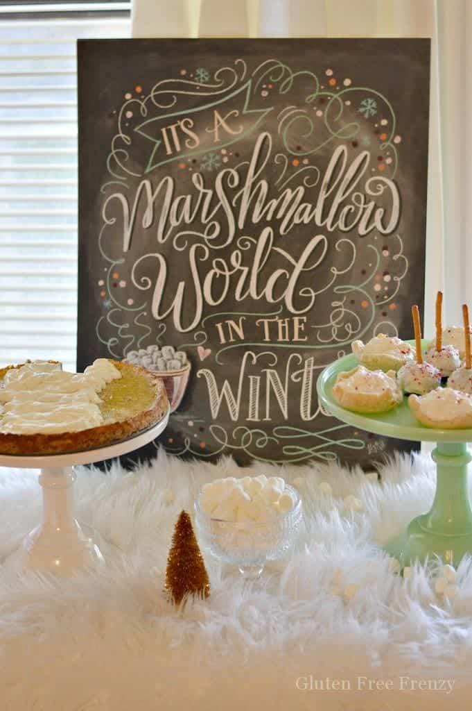 Marshmallow World Christmas Party
