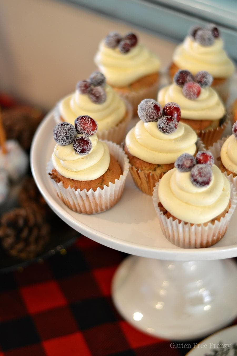 Cupcakes Christmas Tree
