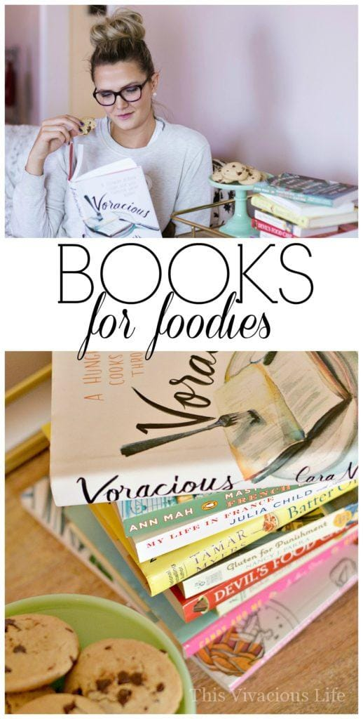 These books for foodies are delectable to both the mind and tastebuds. These books are for all those foodies out there looking for better literature.