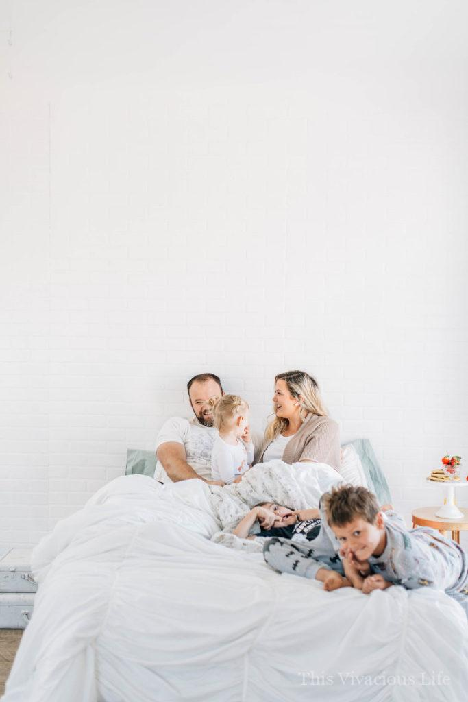 Mother's day breakfast in bed is a must. You can enjoy a simple day with the people you love most without spending much at all...