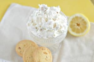 Lemon Ginger Cookie Salad