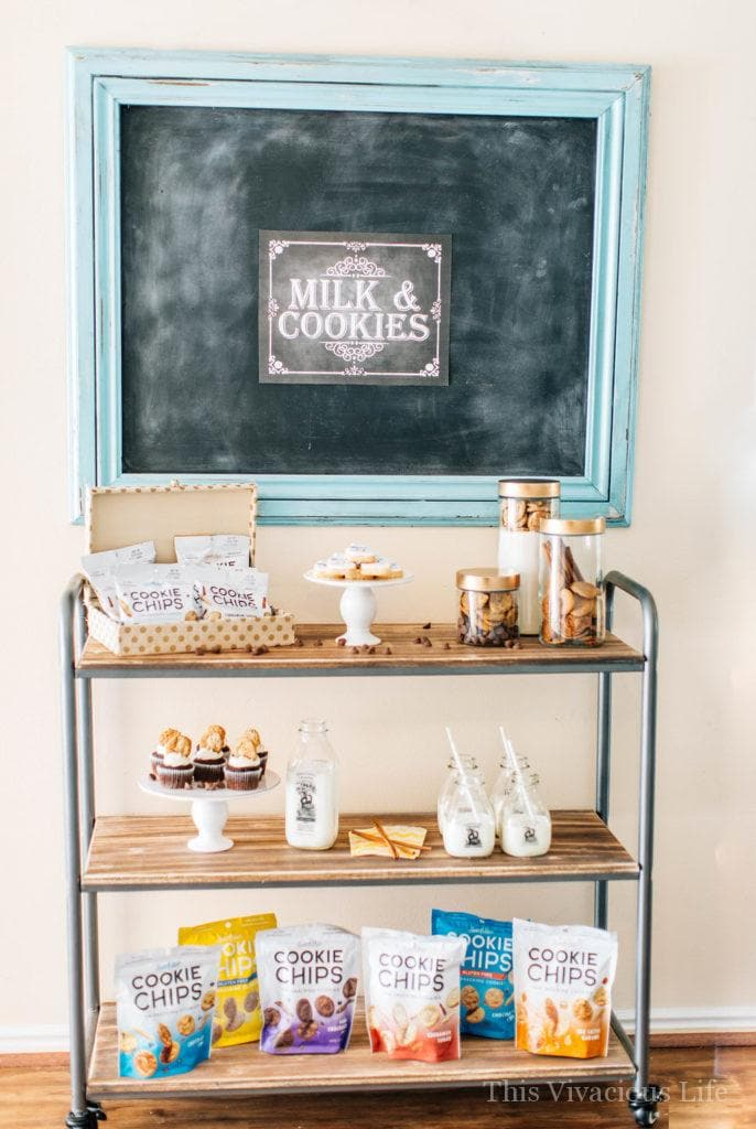 This cookies and milk party is one that everyone will love! Whether you do it for a birthday or another fun celebration, it is sure to be a hit! Get all the decor, food and party ideas here.