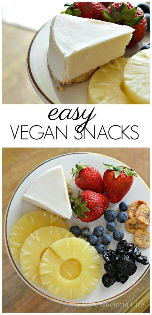 These easy vegan snacks are delicious and can be enjoyed by anyone.