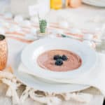 Desert Succulent Dinner Party & Blackberry Gazpacho