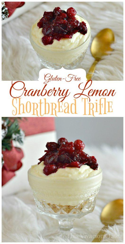 Cranberry-Lemon Pudding
