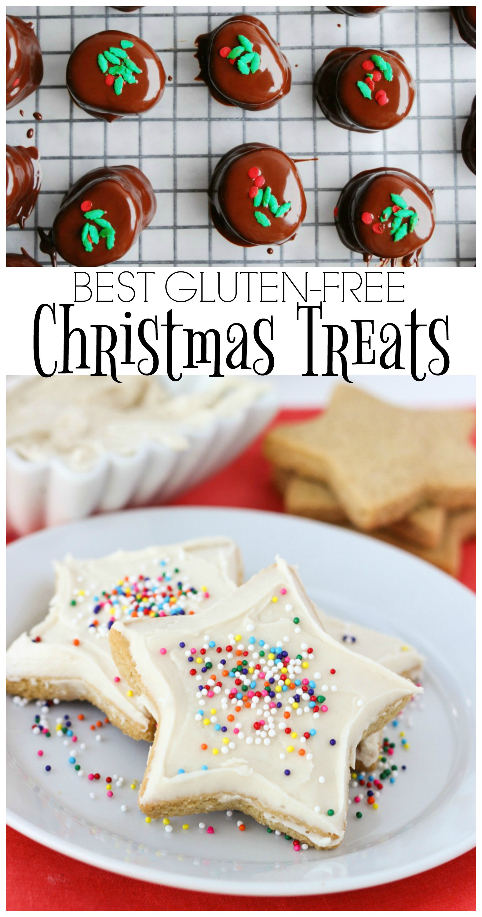 These are the BEST gluten-free Christmas treats from around the web. Everyone will love them! | gluten-free christmas treats | gluten-free christmas cookies | gluten-free christmas sweets | gluten-free christmas treats | gluten-free holiday treats | gluten-free holiday sweets || This Vivacious Life #glutenfreechristmas #glutenfreesweets #glutenfreetreats