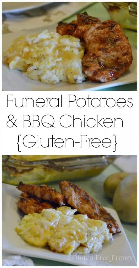 Gluten Free Funeral Potatoes BBQ Chicken Are Easy To Make And A Real Crowd