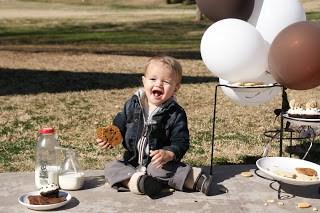 Gluten Free Cookies & Milk Themed 1st Birthday!!!