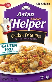 Gluten Free Hamburger Helper changes…
