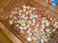 Bacon and Red Potato Quiche