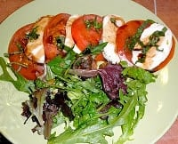 What I've been craving…Yummy Caprese salad