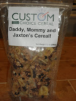 Custom Choice Cereal Winner!!!
