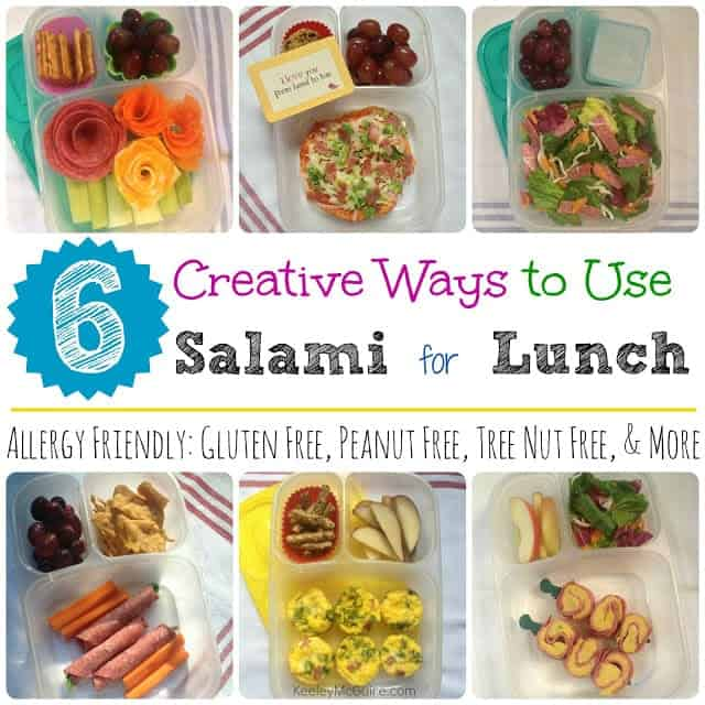 6 creative ways to use salami for school work lunch easylunchboxes