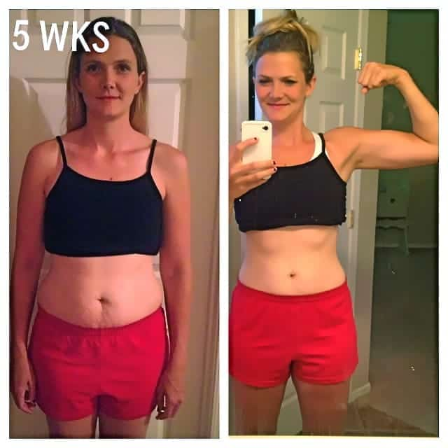 My 5 wk. clean eating & fitness results PLUS a Nutrasumma feature and GIVEAWAY!!