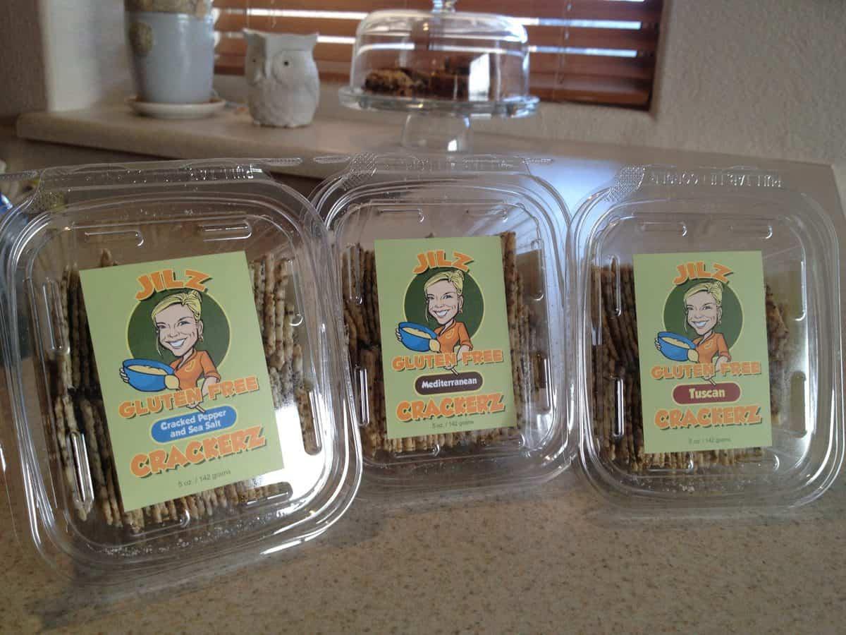 Jilz Gluten Free Crackers Feature & Giveaway!!