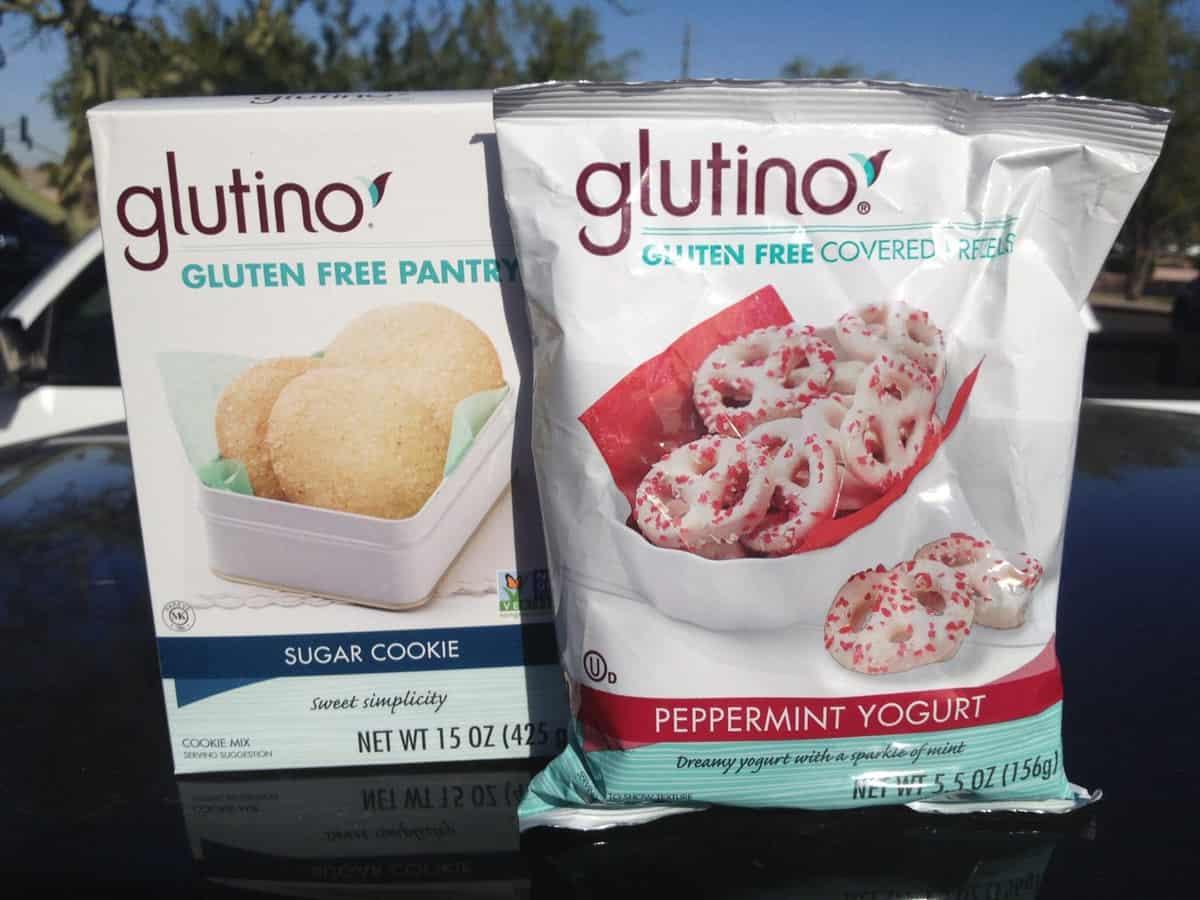 Glutino Peppermint Yogurt Covered Pretzels & Sugar Cookie Giveaway!!