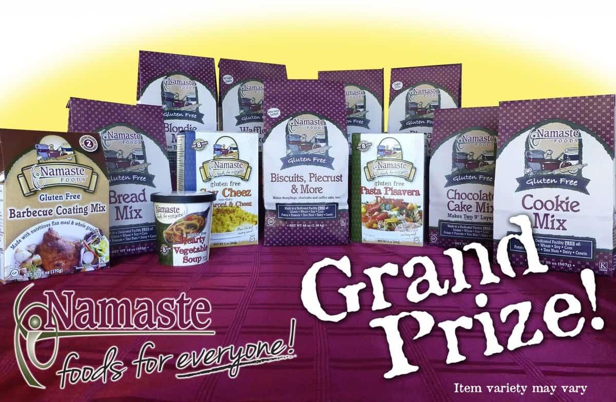 25 Days of Gluten-Free Giveaways #8 Namaste Foods