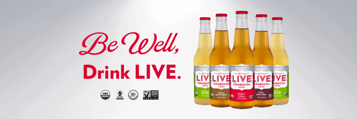 Products I LOVE: LIVE Soda Kombucha Feature & GIVEAWAY!!
