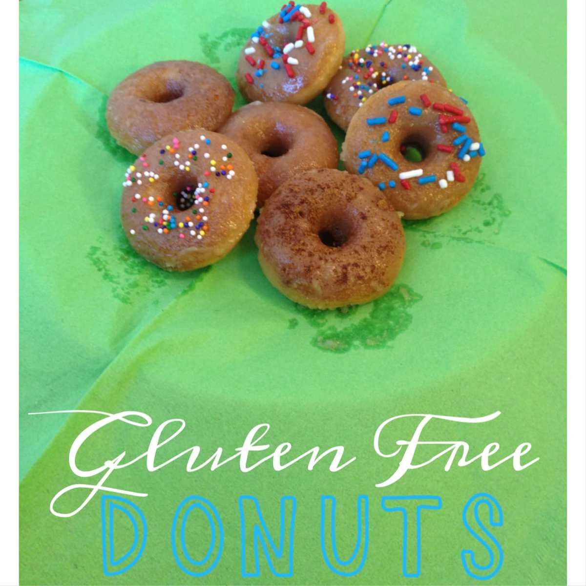 Gluten-Free Mini Donuts From Pancake Mix