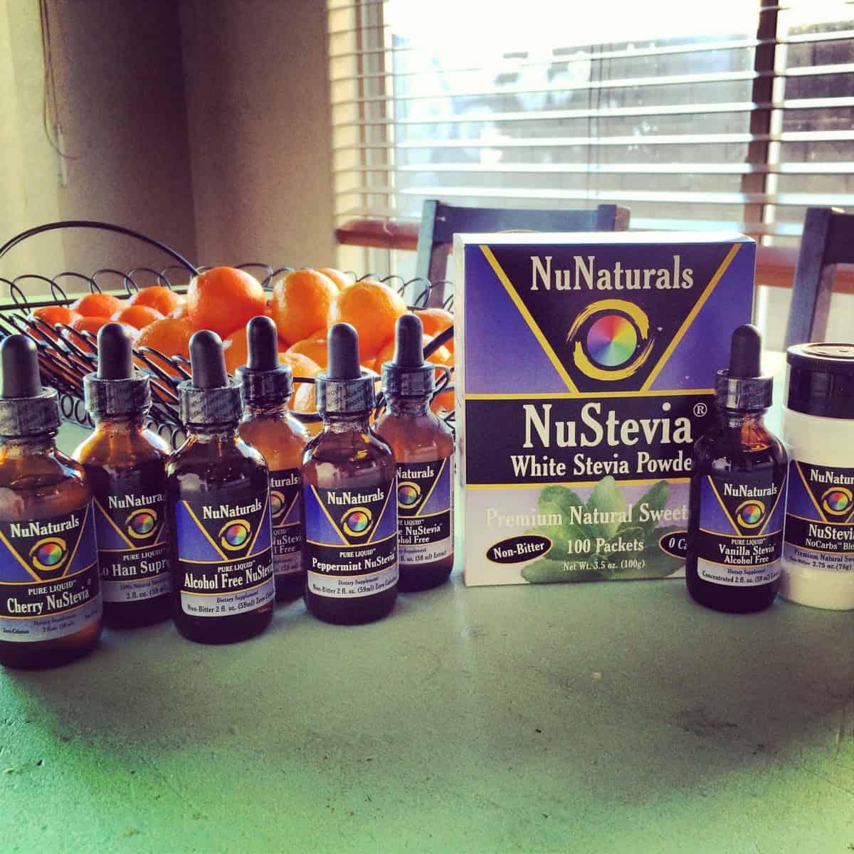 NuNaturals Gluten-Free Stevia Feature & Giveaway!!