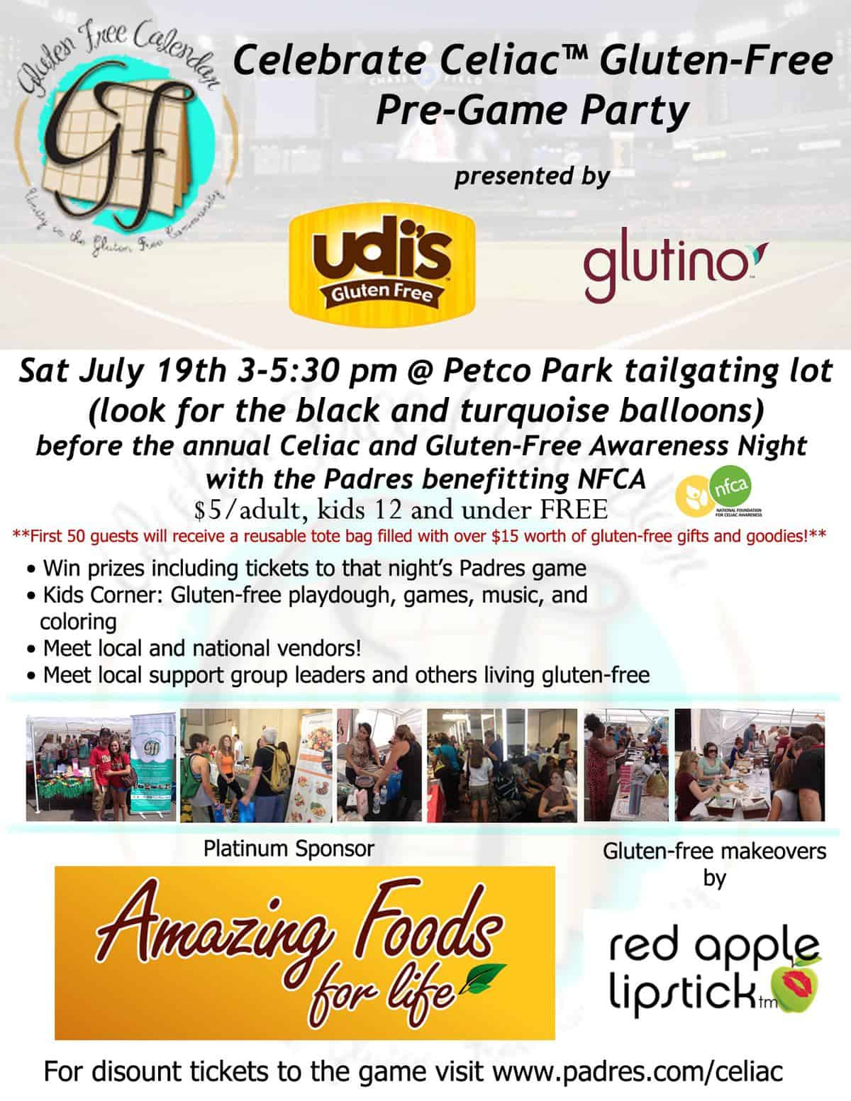 San Diego Celebrate Celiac™ Gluten-Free Event: FREE Tickets!