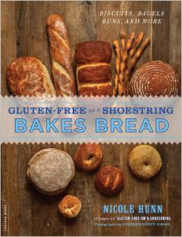 Gluten-Free on a Shoestring Bakes Bread Book Review & GIVEAWAY!!