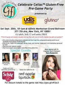 Celebrate Celiac™ NYC Gluten-Free Party!!