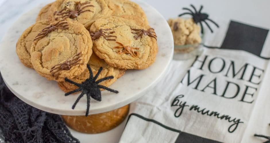 Spider Chocolate Chip Cookies (Gluten-Free)