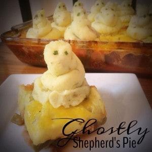 Ghostly Gluten-Free Shepherd's Pie for Halloween