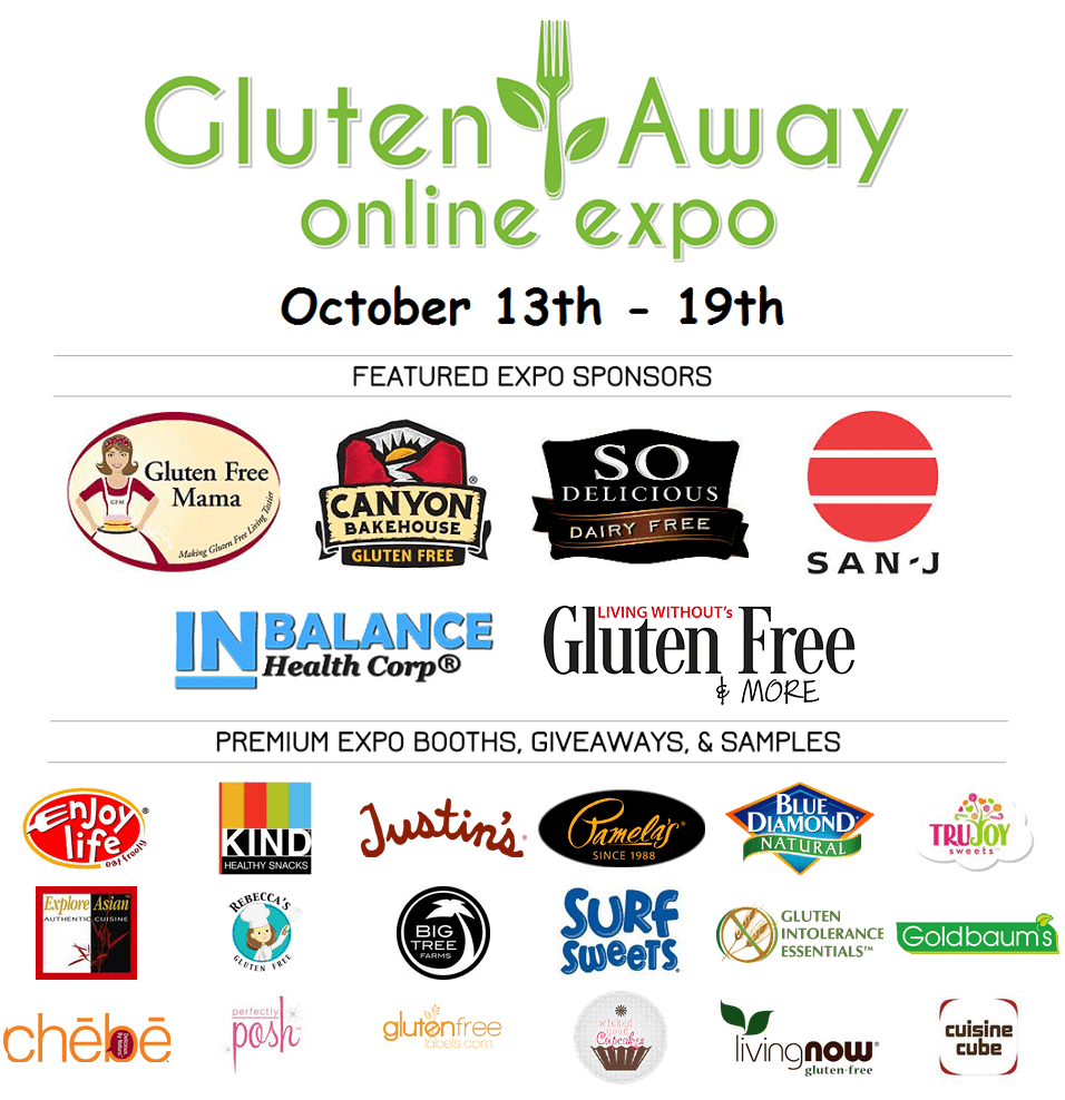 Gluten Away Virtual Gluten-Free Expo GIVEAWAY!!
