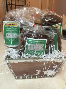 TWO-DAY Flash Facebook Gluten-Free Giveaway! Tate's Bakeshop