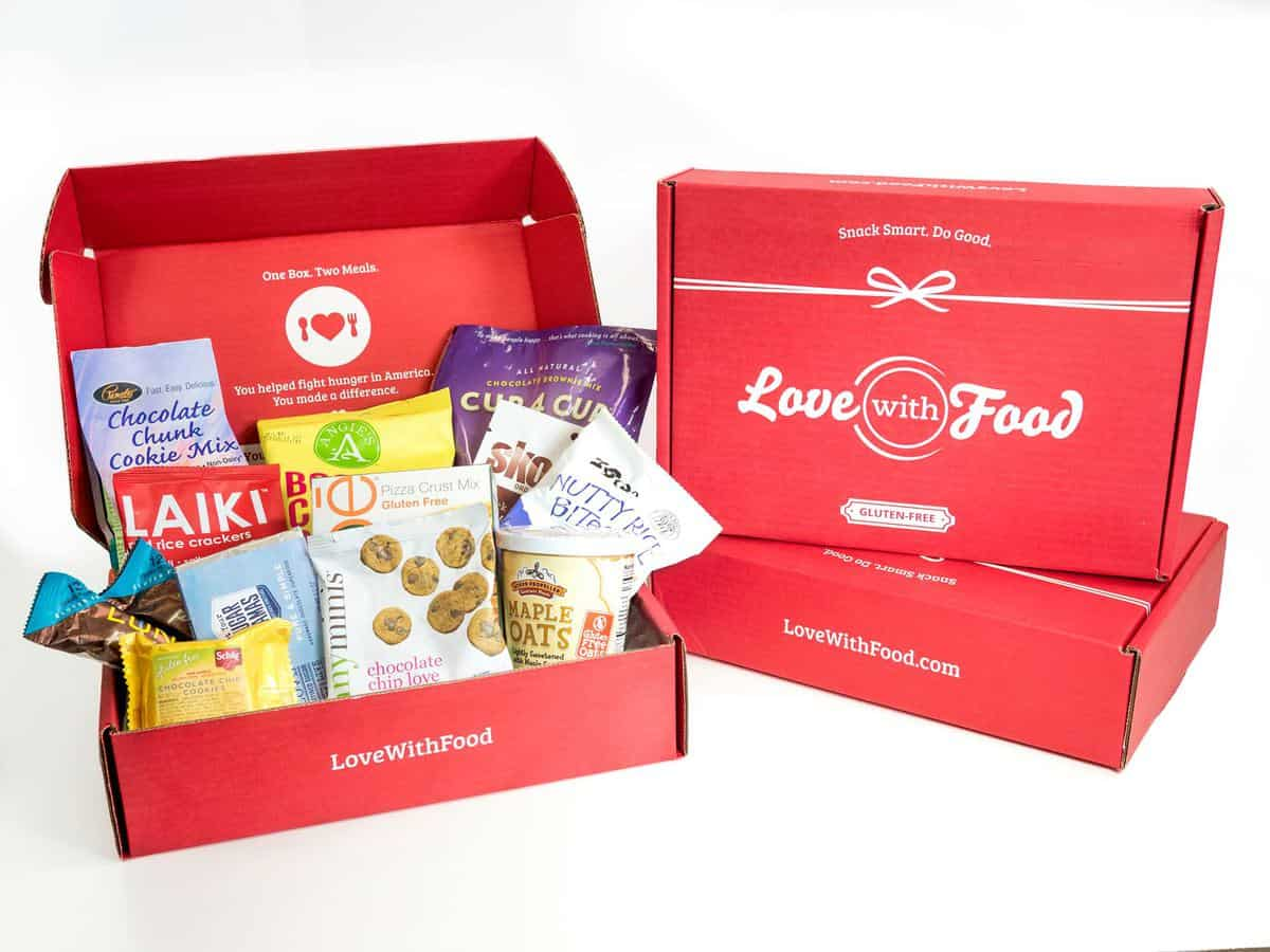 25 Days of Gluten-Free Giveaways™ #20-Love With Food by G-free Foodie