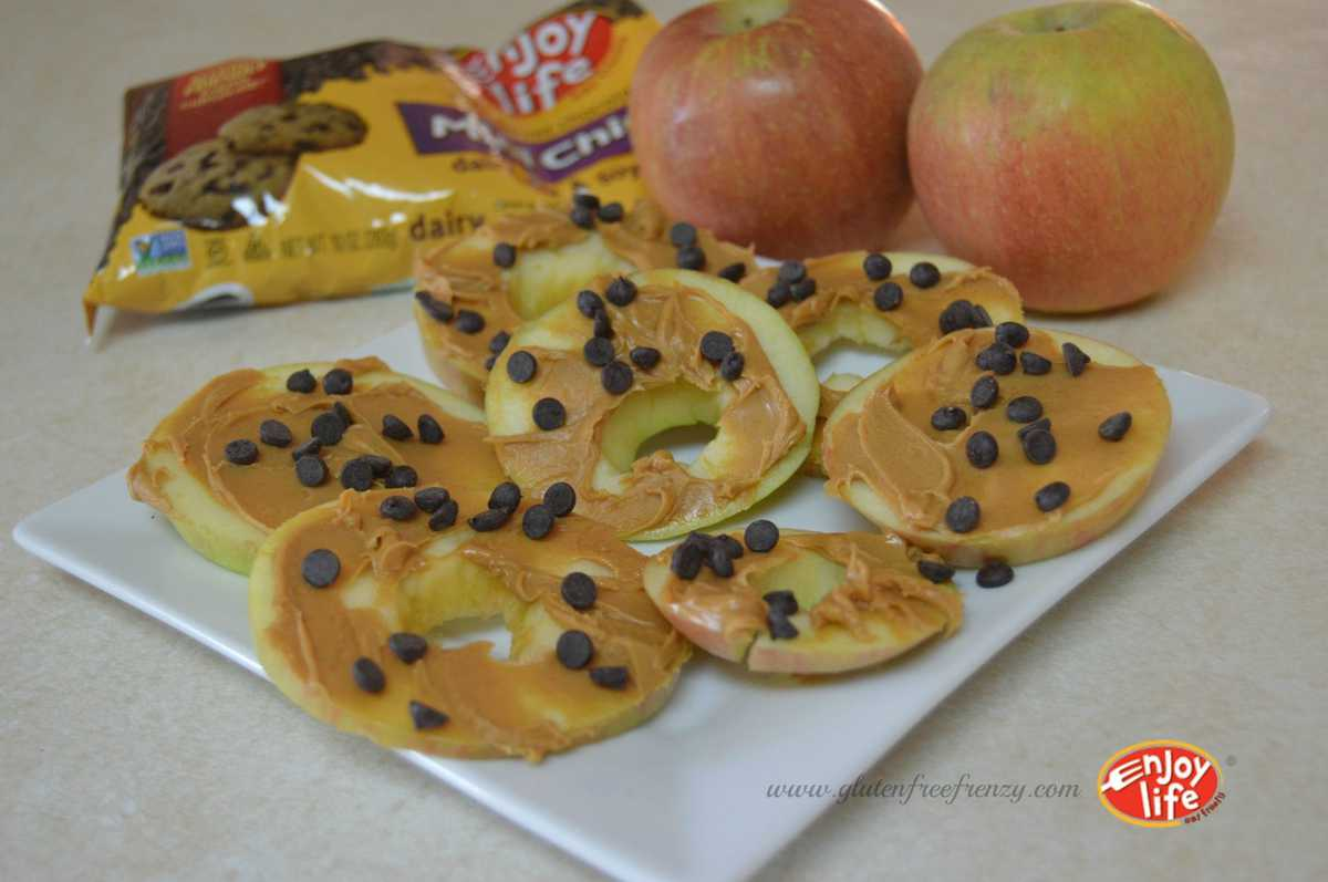 "Bees Knees Dairy-Free Chocolate Chip Apple ""Cookies"""