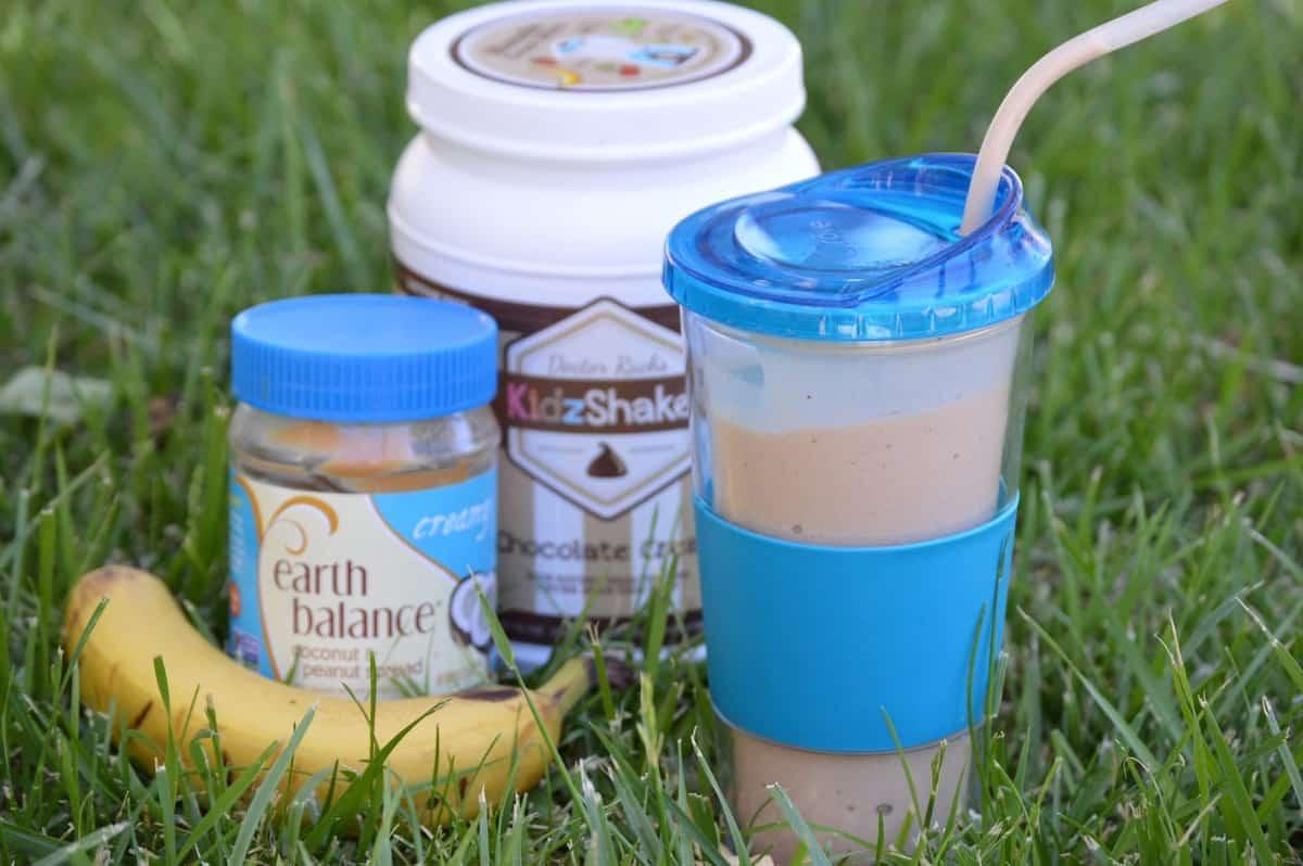 Jamba Juice Smoothie Peanut Butter Moo'd Copycat (Gluten-Free & Healthy!)