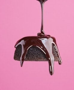 GFF (Gluten Free Forever) Magazine Feature, Chocolate Ganache