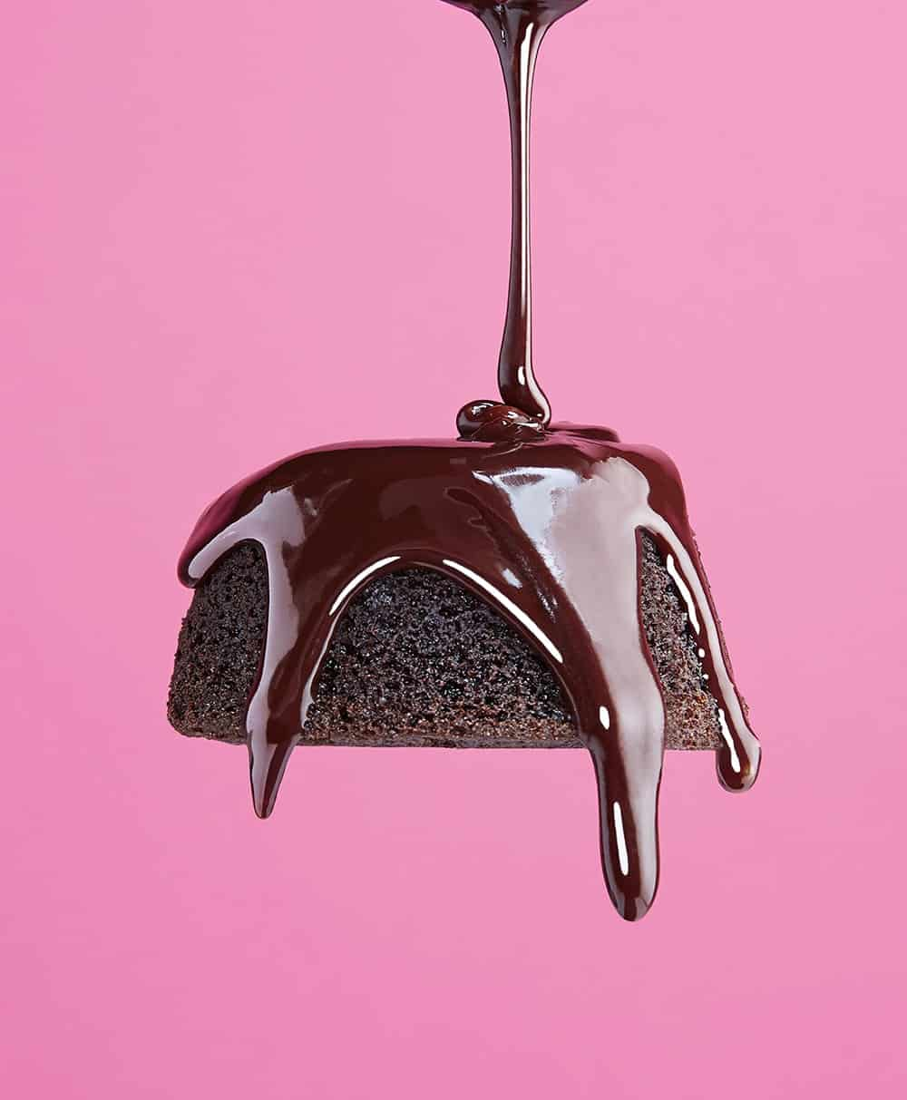 GFF (Gluten Free Forever) Magazine Feature, Chocolate Ganache