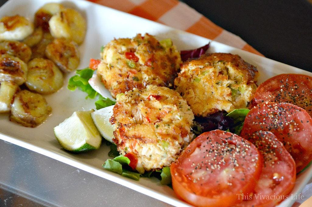 These gluten-free crab cakes whole 30 approved are a delicious dinner or appetizer that will feel like a cheat meal.