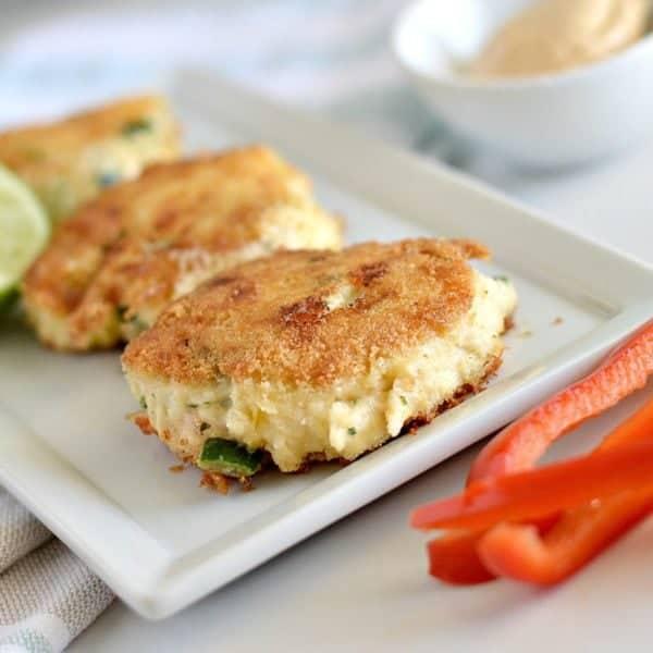 Paleo Salmon Crab Cakes