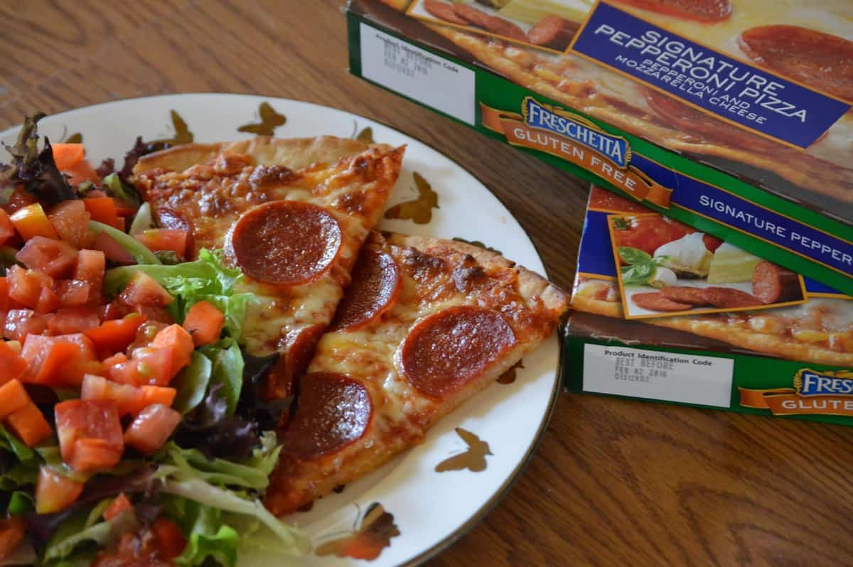 Freschetta Gluten-Free Pizza Review and Giveaway