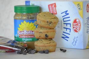 Enjoy Life Chocolate Chip & Sunbutter Top 8 Allergen-Free Muffins