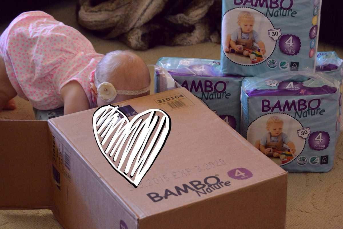 Bambo Nature Eco-Friendly Diapers Feature & Giveaway (ONE MONTH SUPPLY!)