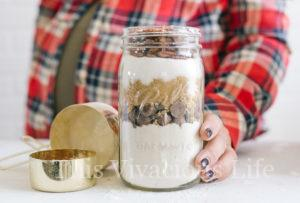 Gluten-Free Chocolate Chip Cookies in a Jar