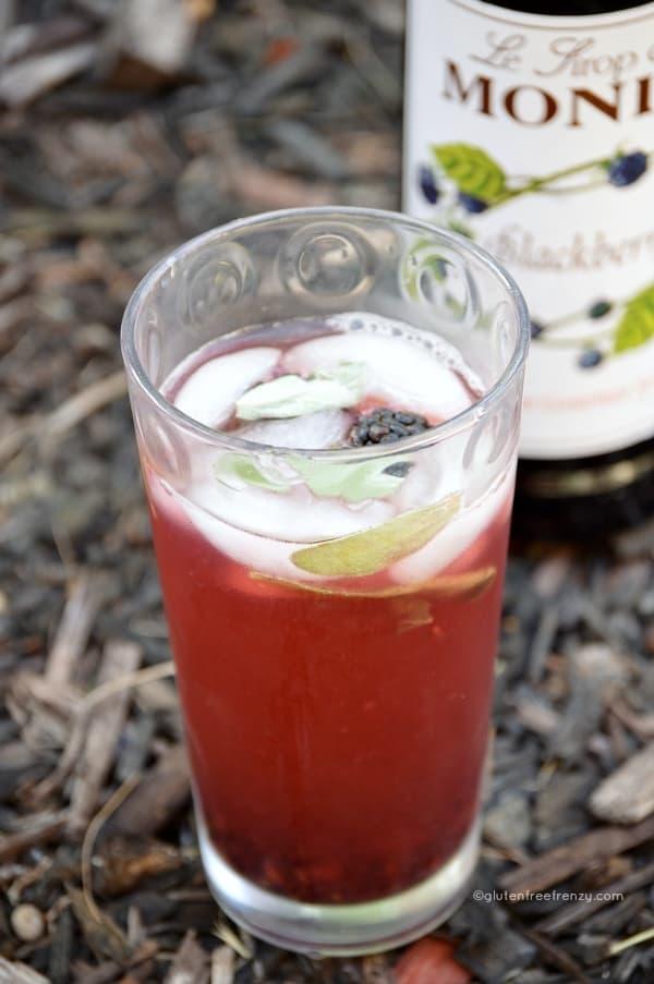 Blackberry Sage Lemonade Melting Pot Copycat - Gluten Free Frenzy