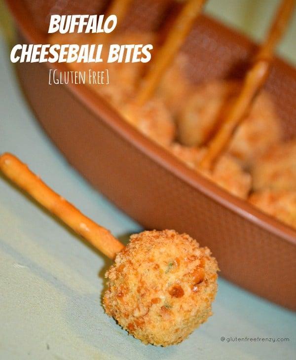 Buffalo Cheeseball Bites [Gluten-Free]