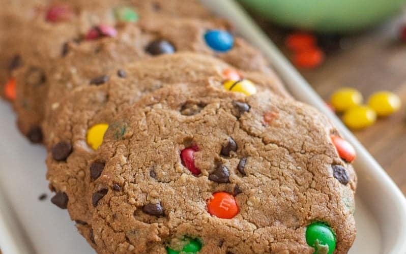 Gluten-Free Monster Cookies (Easy)